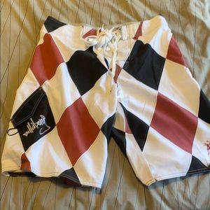 New billabong men's board shorts size 32